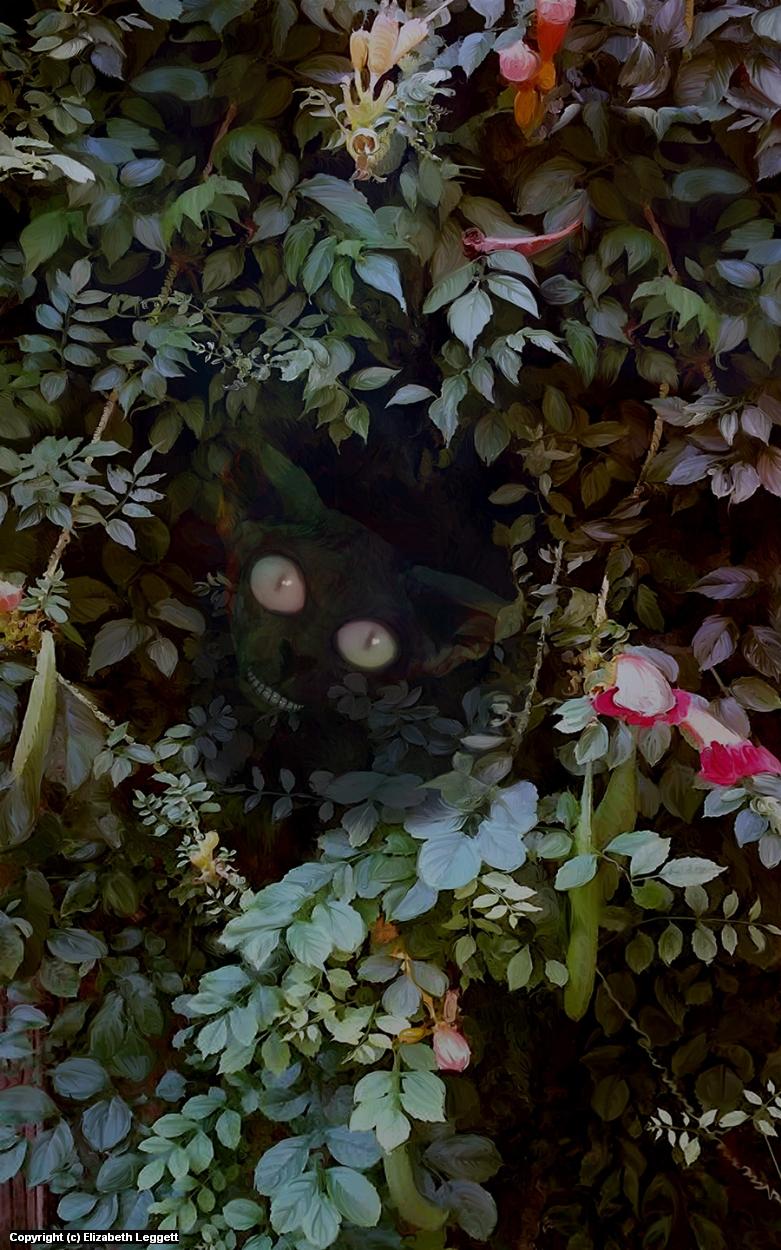 Peekaboo! Artwork by Elizabeth Leggett