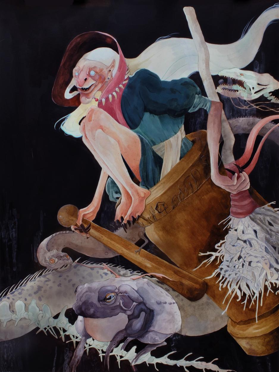The Spirits of Baba Yaga  Artwork by Katherine Henri Henri