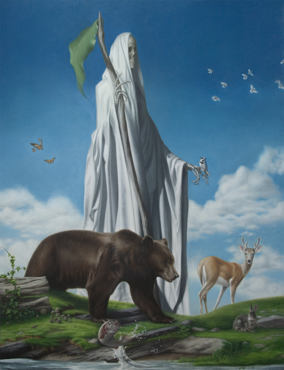 Pastoral Death Artwork by Tony Lombardo