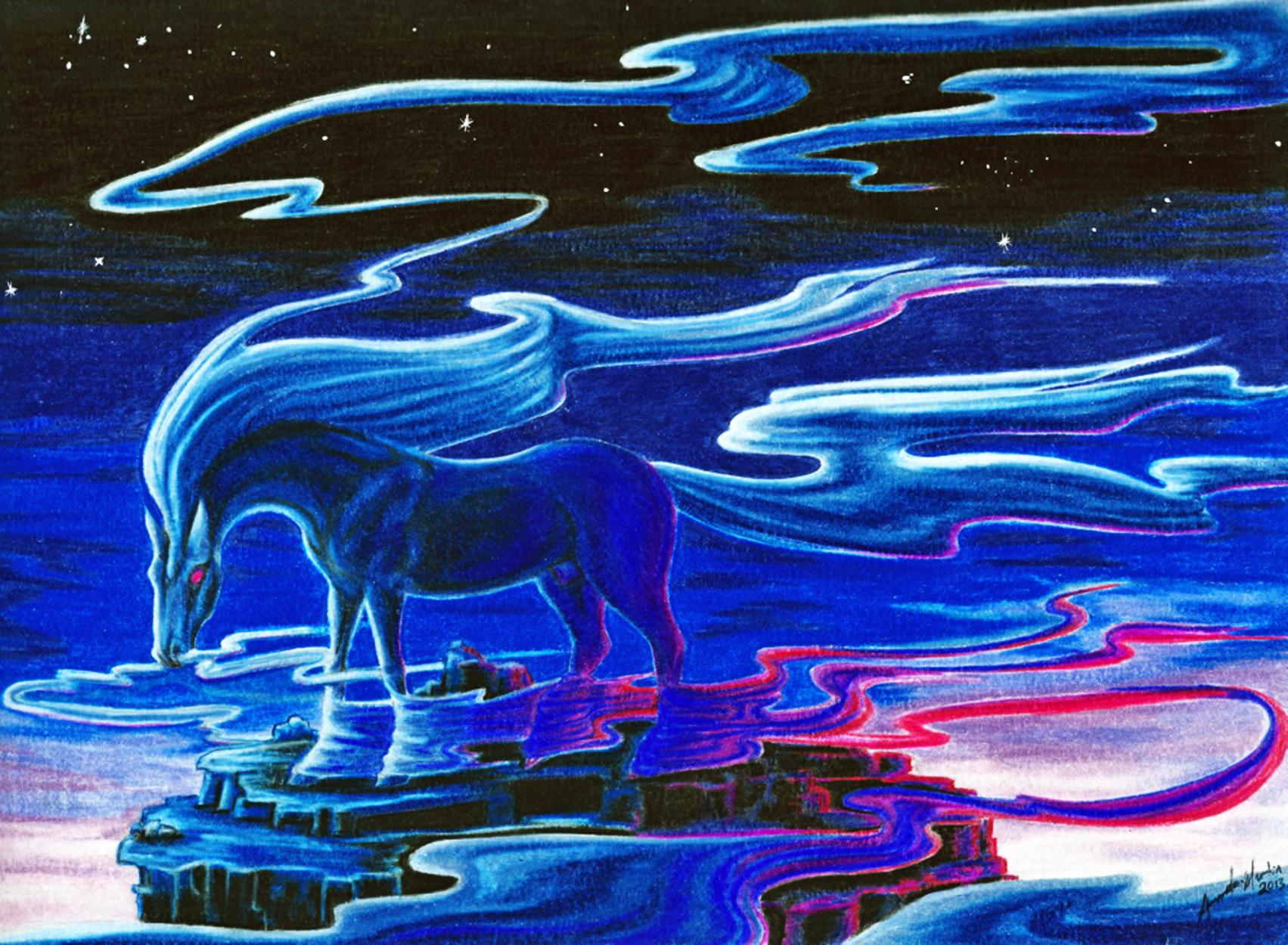 Arganonn  'Bringer of the Dusk' Artwork by Amanda Martin