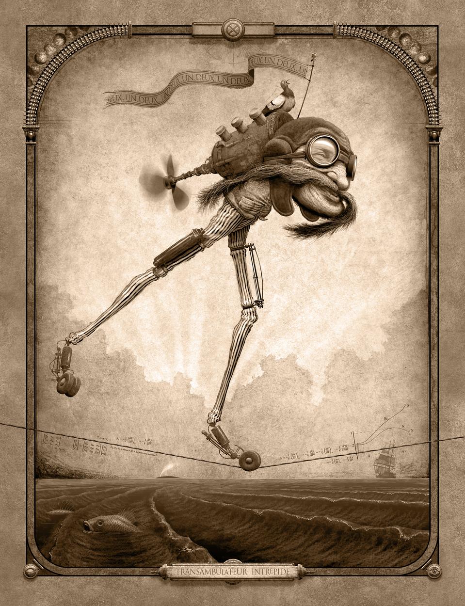 Transambulateur Intrepide  Artwork by Ed Binkley