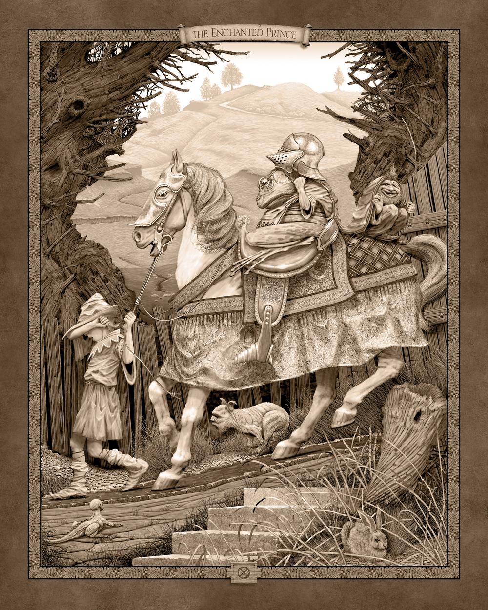 Enchanted Prince  Artwork by Ed Binkley