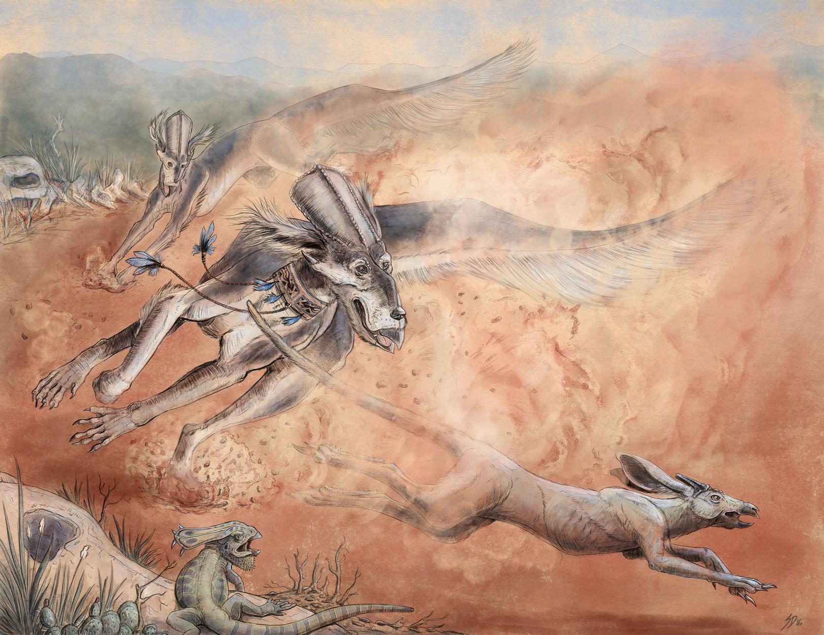 Largaton's Hunt Artwork by Sarah Dahlinger
