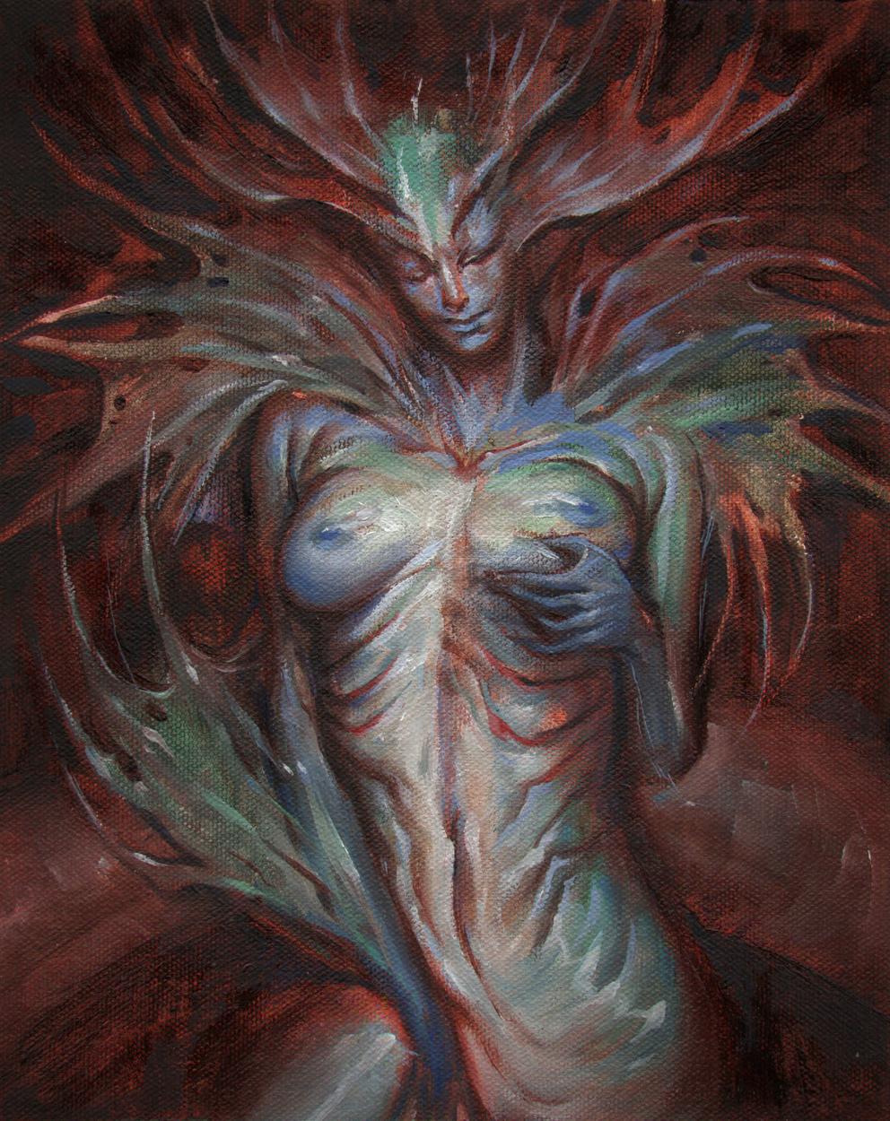 Mermaid Artwork by Taylor Fischer