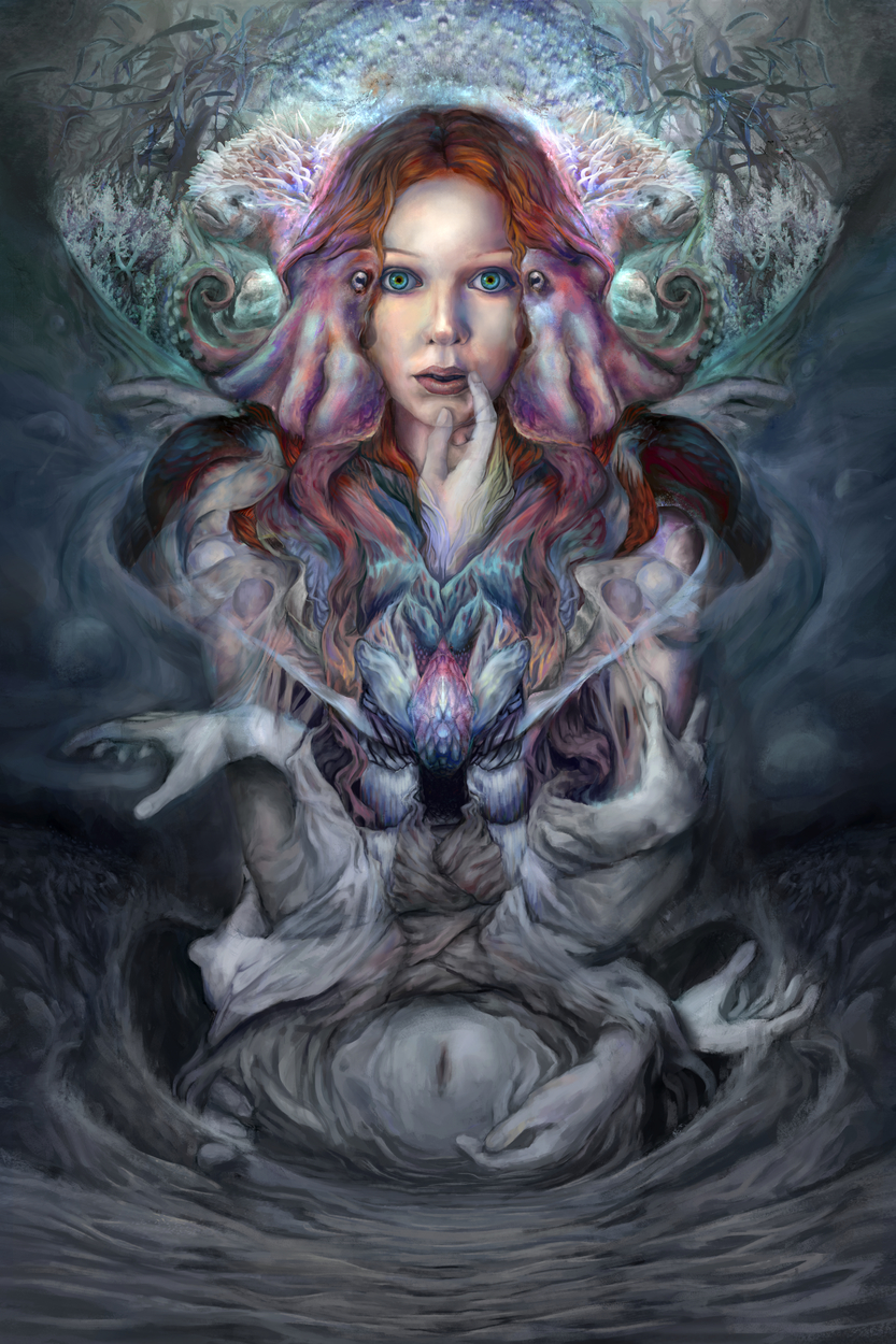 Pelagium Artwork by Maxwell Crabill