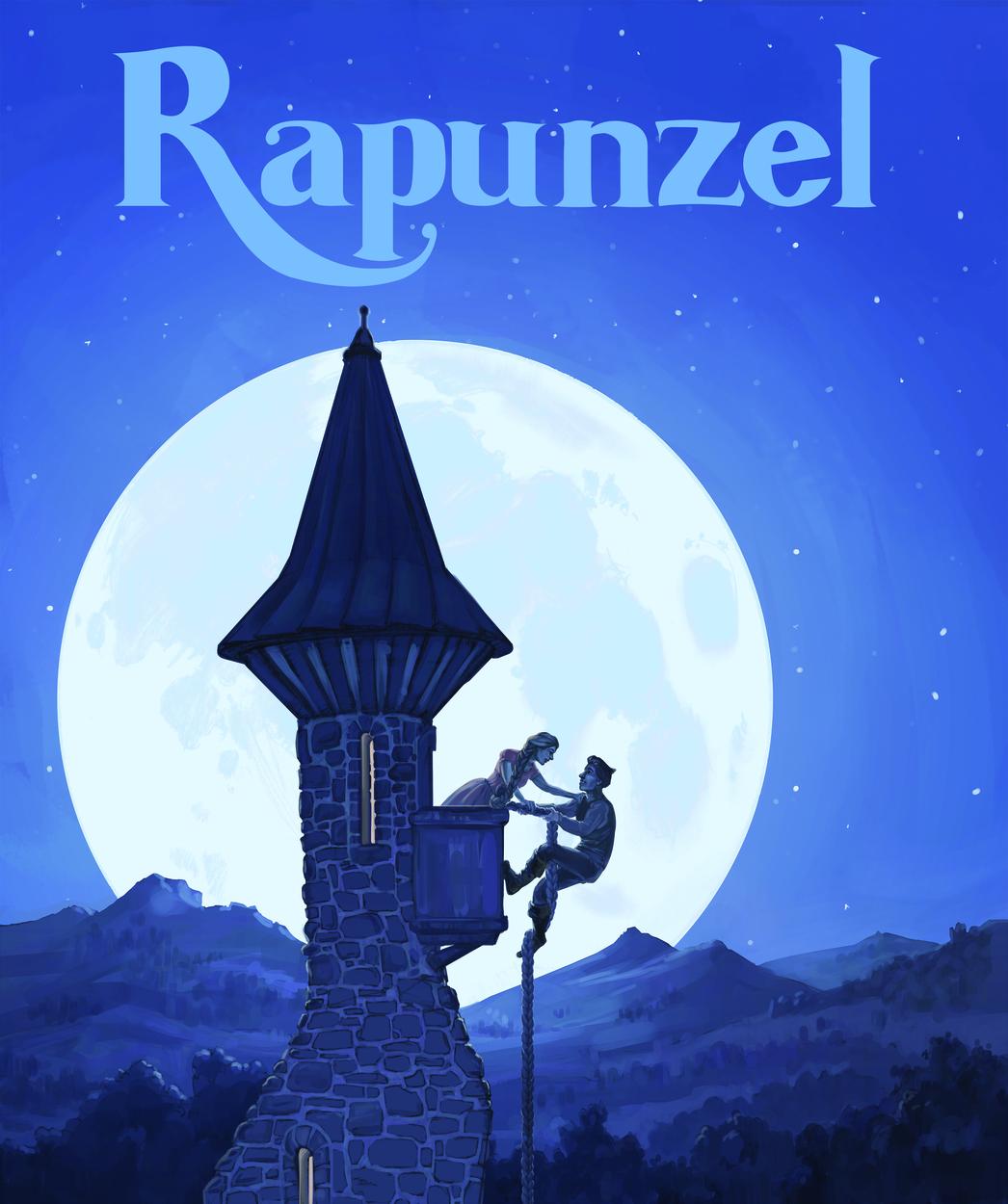Rapunzel Artwork by Erika Steiskal