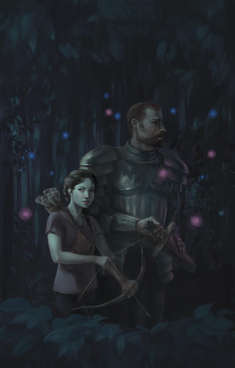 Starshine and Saxifrage Artwork by Erika Steiskal