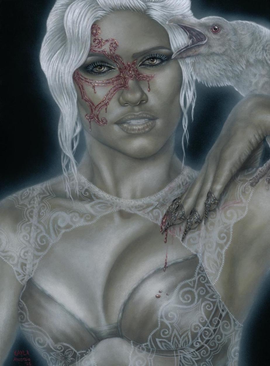 Apparition Artwork by Kayla Ascencio