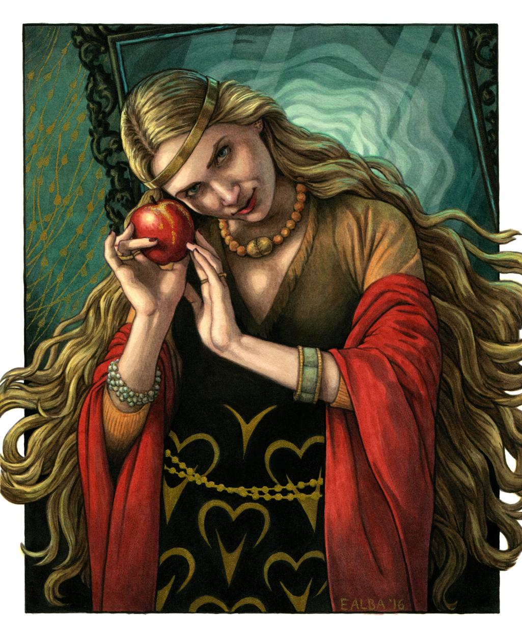 Poison Apple Artwork by Elisabeth Alba