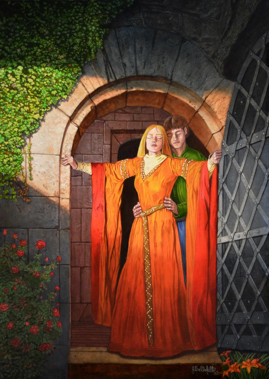 Tristan & Isolde Artwork by Joseph Bellofatto