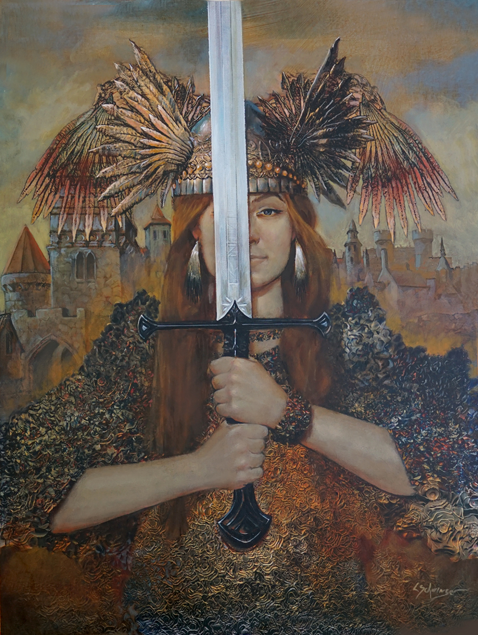 The Sword Artwork by Laurence Schwinger