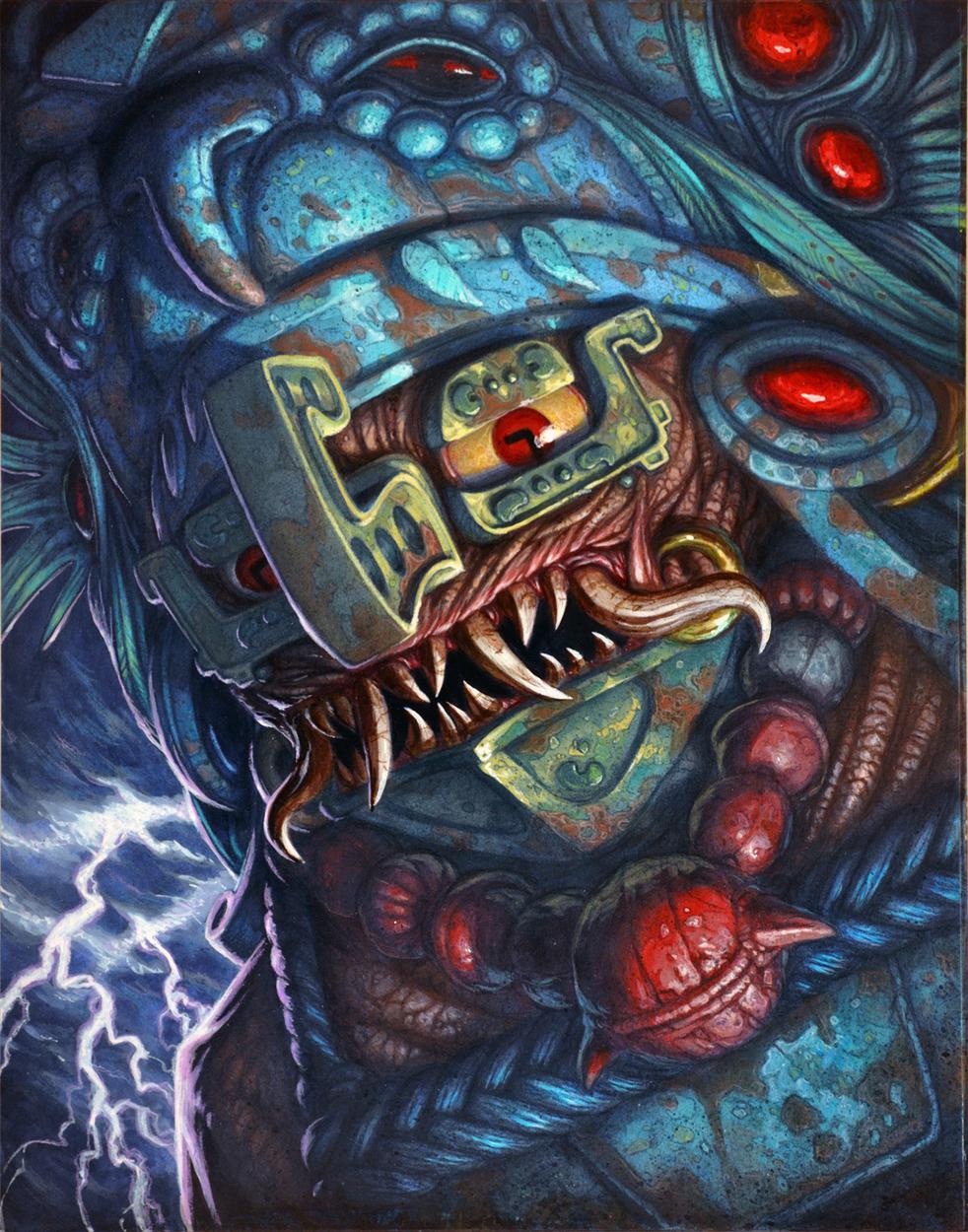 Chaac Artwork by Christopher Burdett