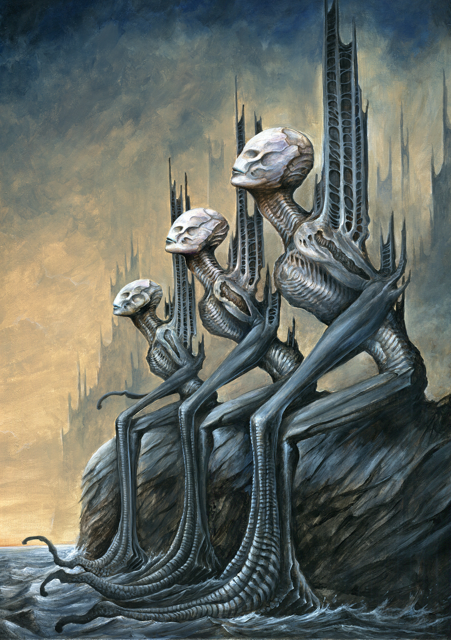 The Watchers Artwork by Marc Potts