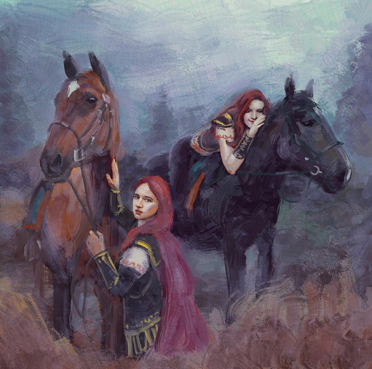 Riders Artwork by George Semenov