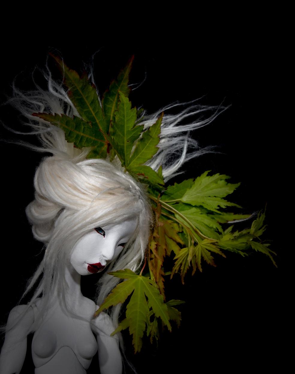 Maple Leaf Artwork by Meagan Lillich