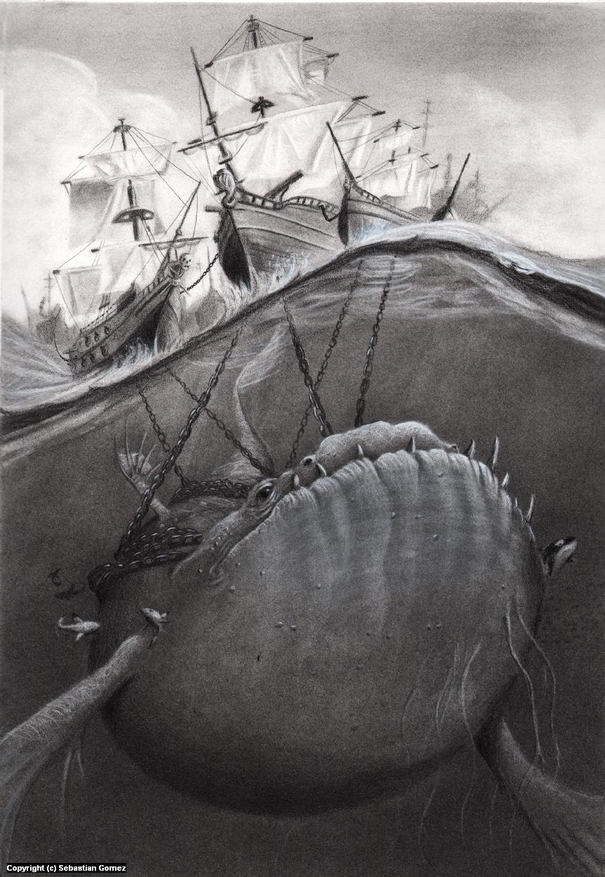 The Scar Artwork by Sebastian  Gomez