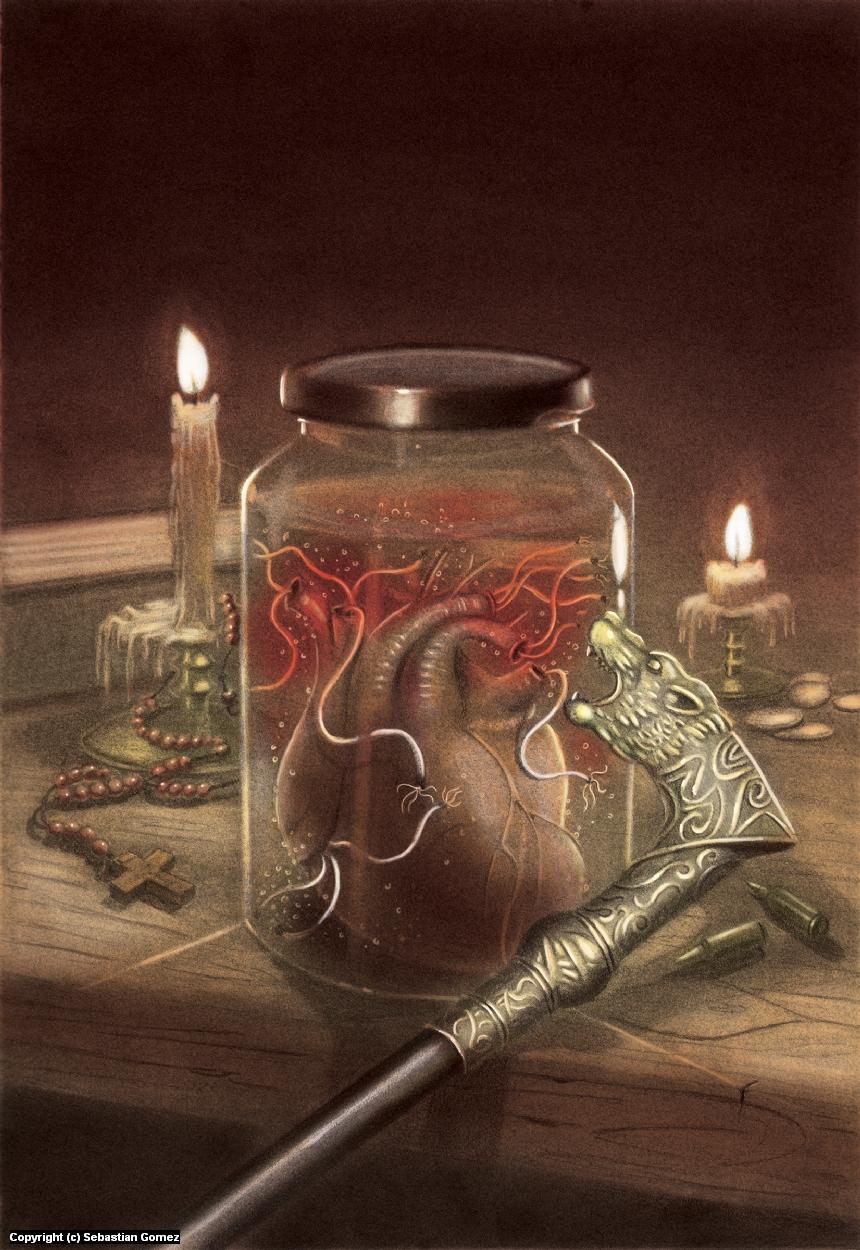 Eternal Love Artwork by Sebastian  Gomez