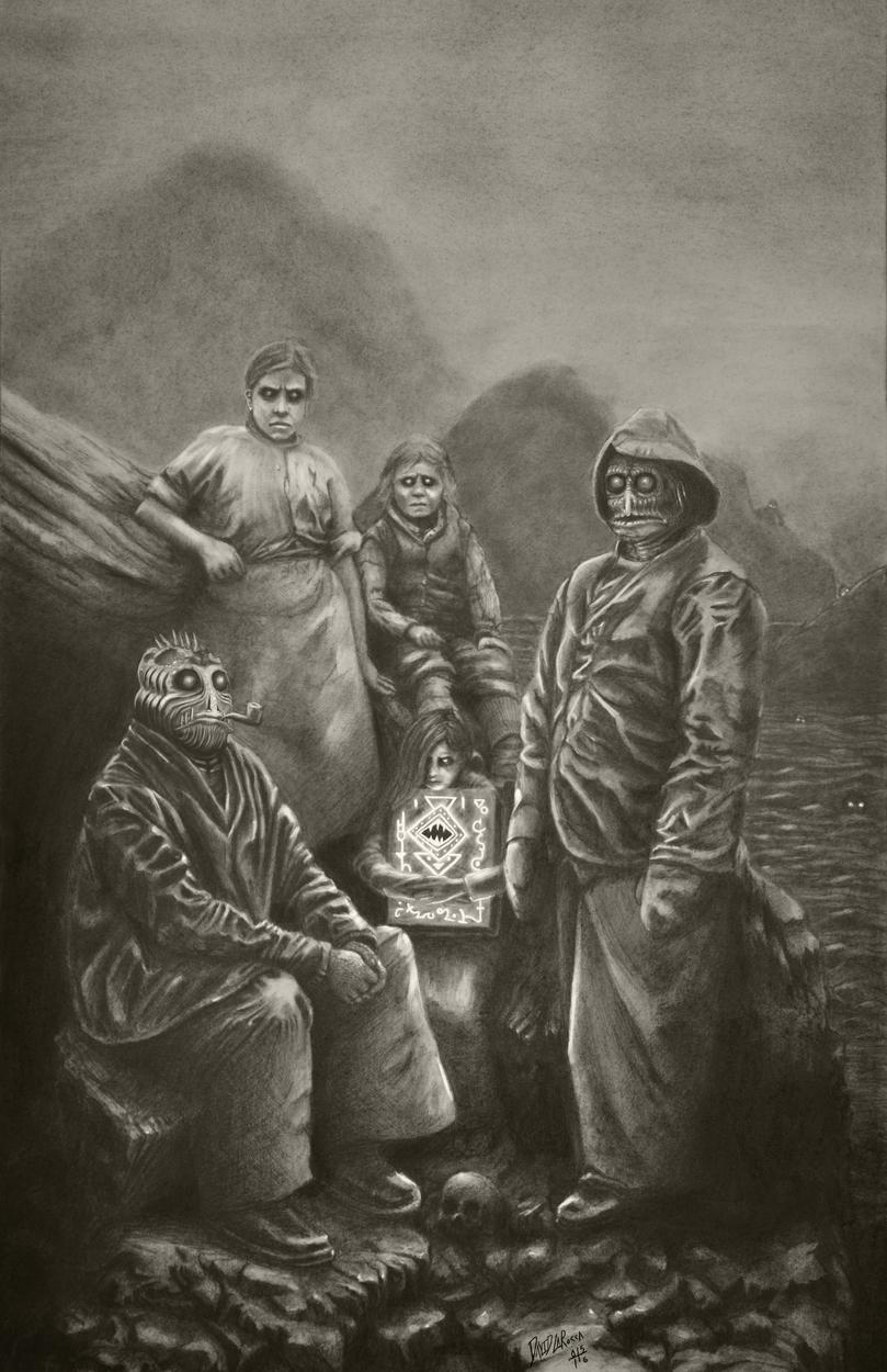 The Marshs of Innsmouth Artwork by David LaRocca