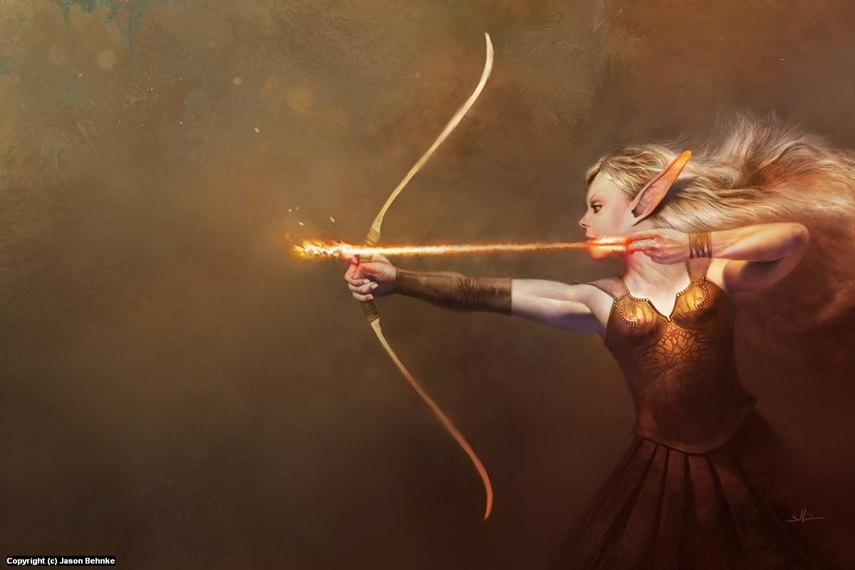 Archer 02 Artwork by Jason Behnke
