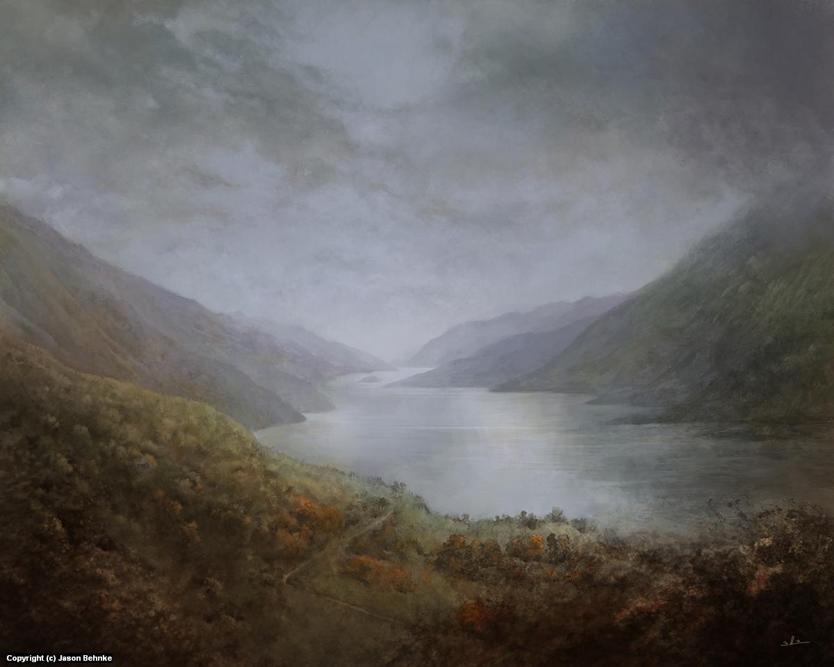 Loch Lomond Artwork by Jason Behnke