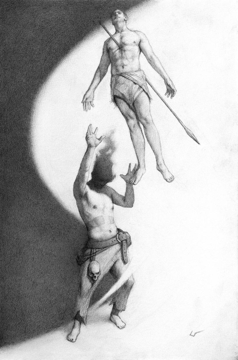 The Necromancer Artwork by Bruno Galuzzi Corsini