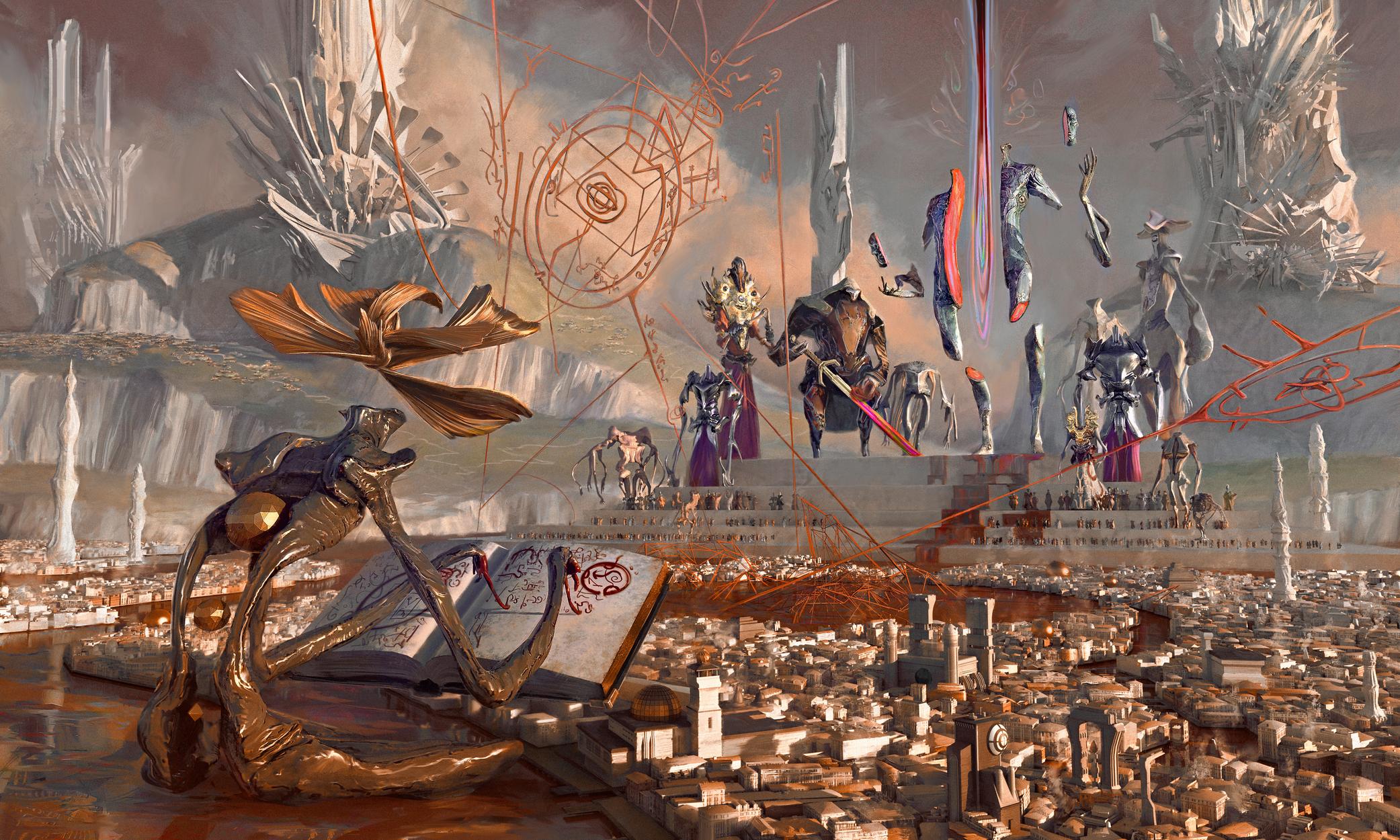 Runes Artwork by Aldo Katayanagi