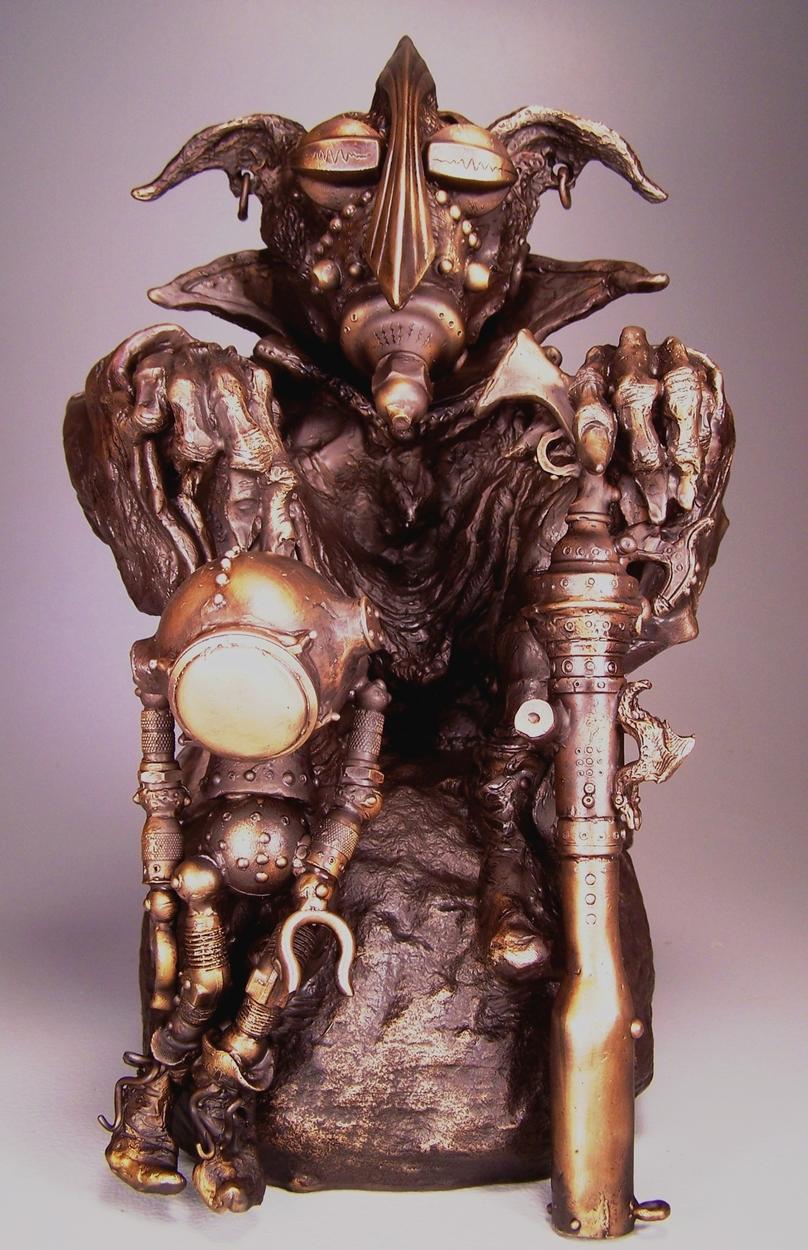 The Robot Hunter Artwork by Vincent Villafranca