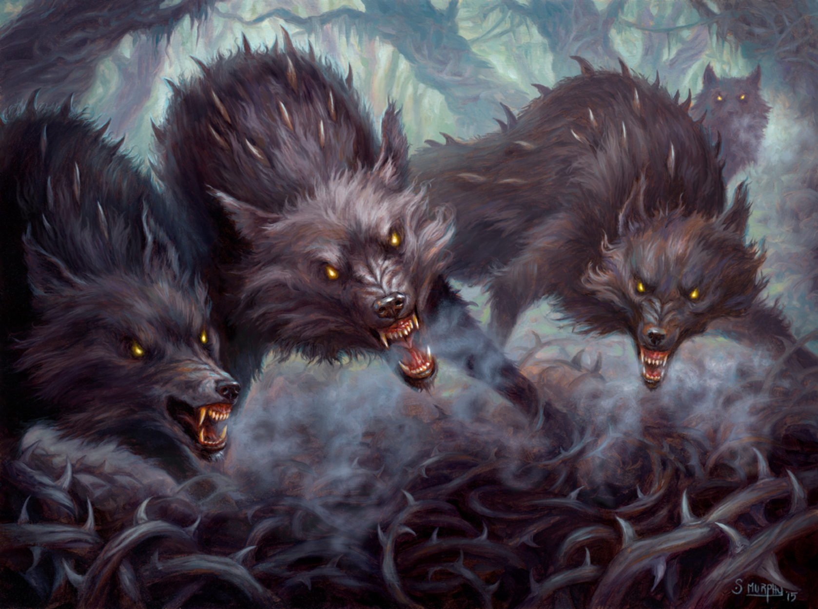 Thornhide Wolves Artwork by Scott Murphy