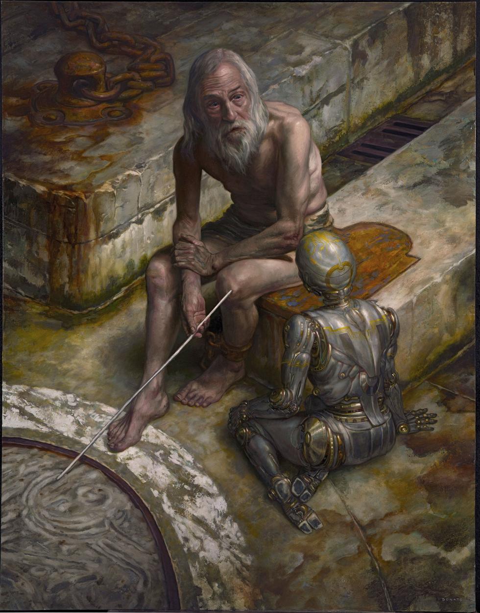 Prometheus, A.I. Artwork by Donato Giancola