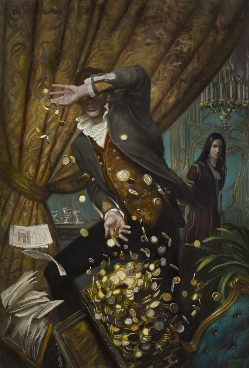Assassin's Price Artwork by Donato Giancola