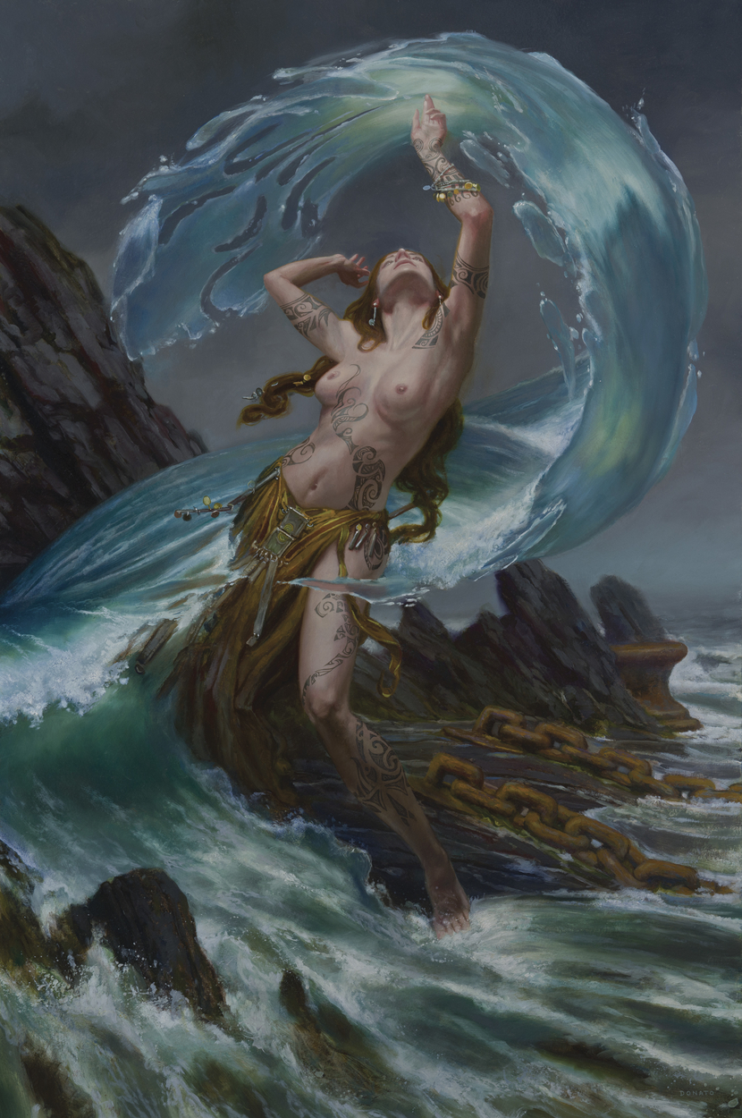 Shaman - Water Artwork by Donato Giancola