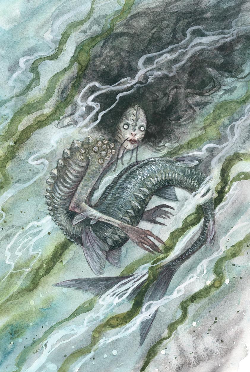mermaid Artwork by iris compiet