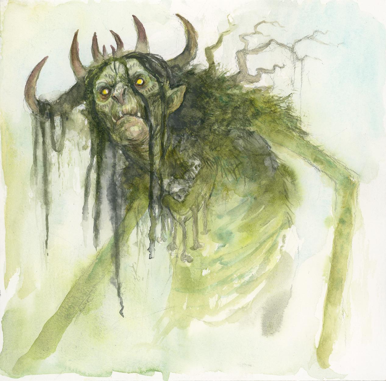 Swamp Witch Artwork by iris compiet