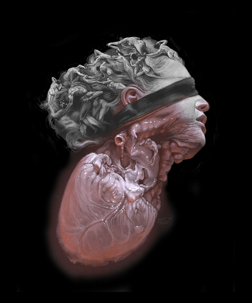 Medusa Artwork by Matt Tisdale