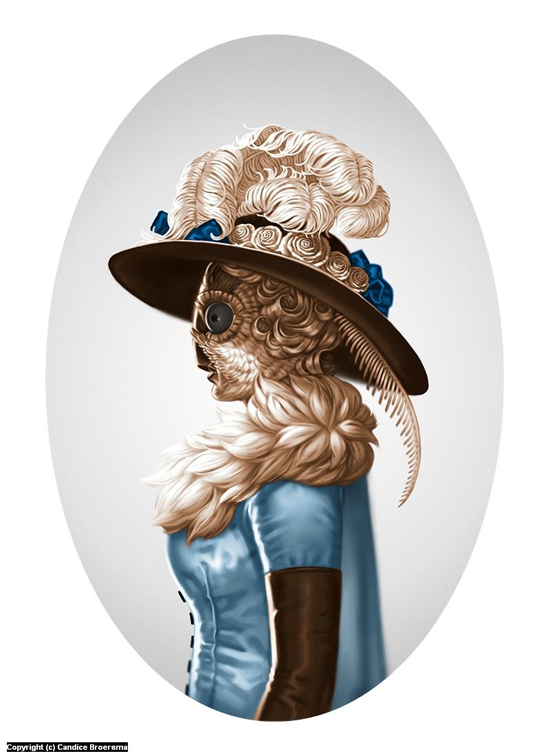 Madam Moth Artwork by Candice Broersma
