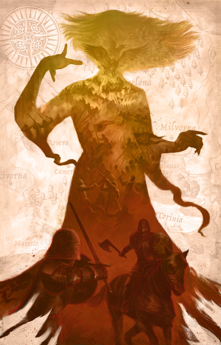 The Witch of Torinia Artwork by Adam S Doyle