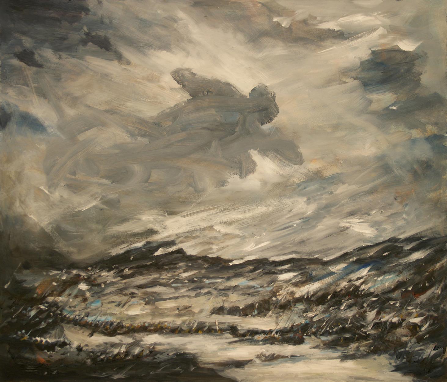 Hannibal crossing the Alps Artwork by Brian McElligott