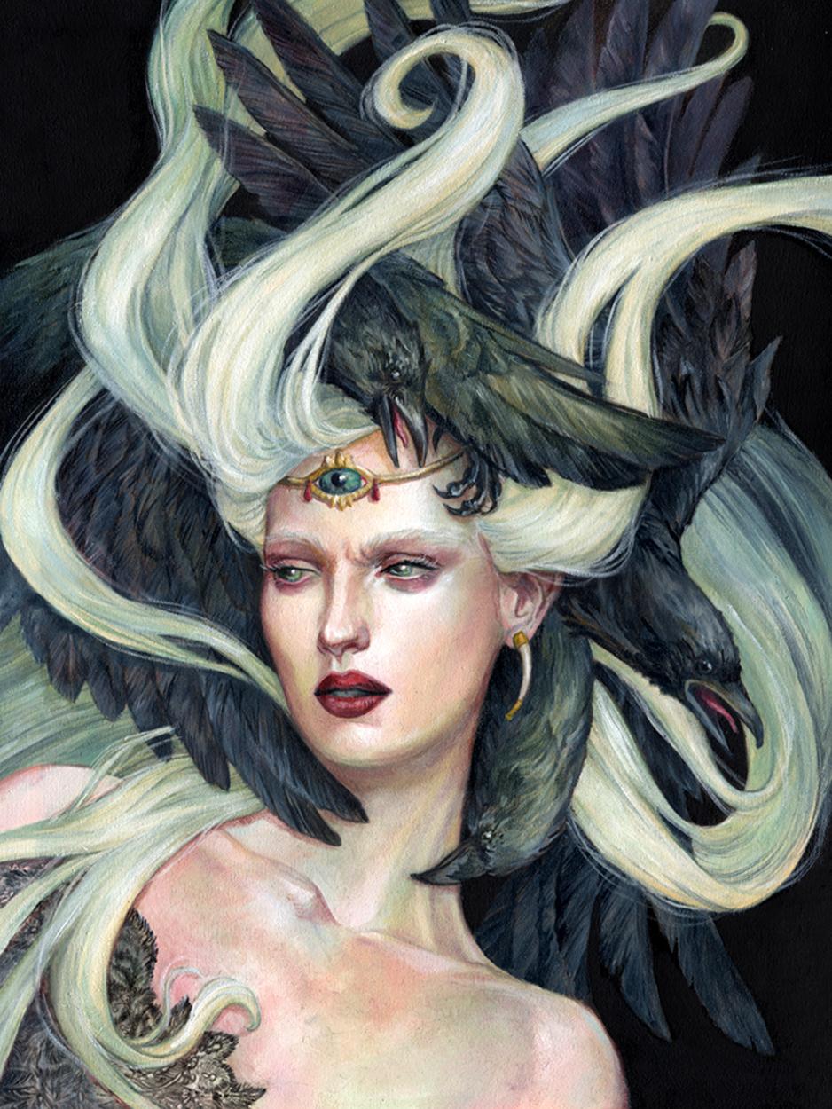 Oracle Artwork by Jennifer Hrabota Lesser