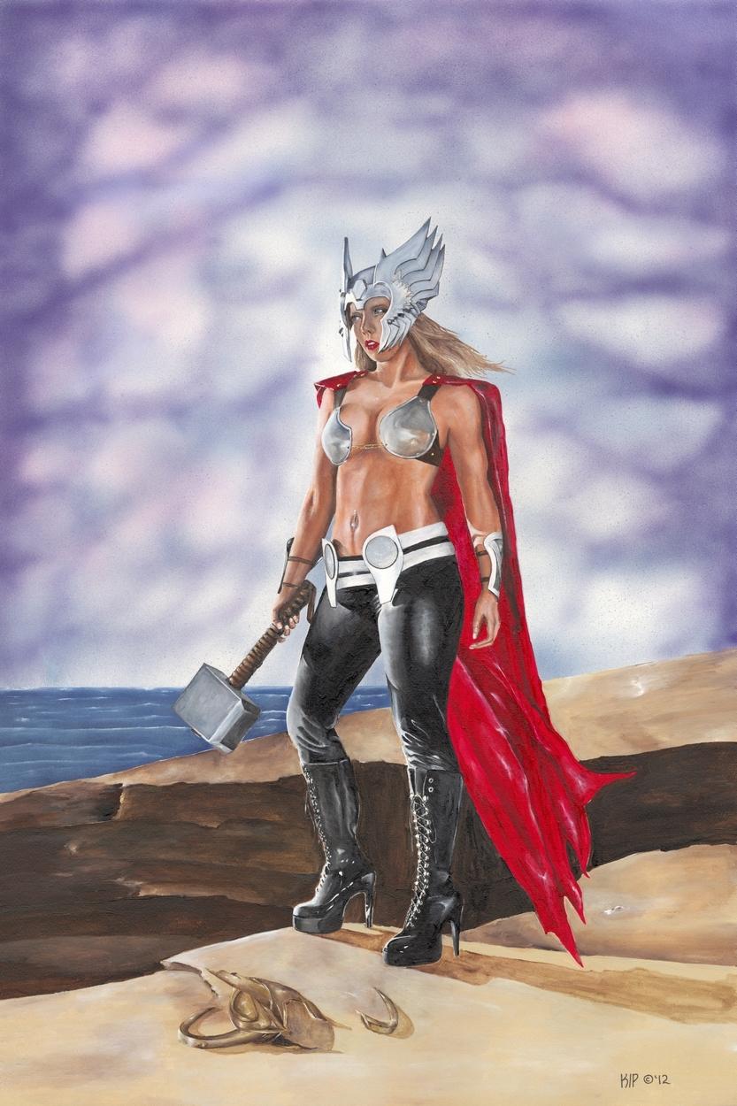Avenger Artwork by Kip Mussatt