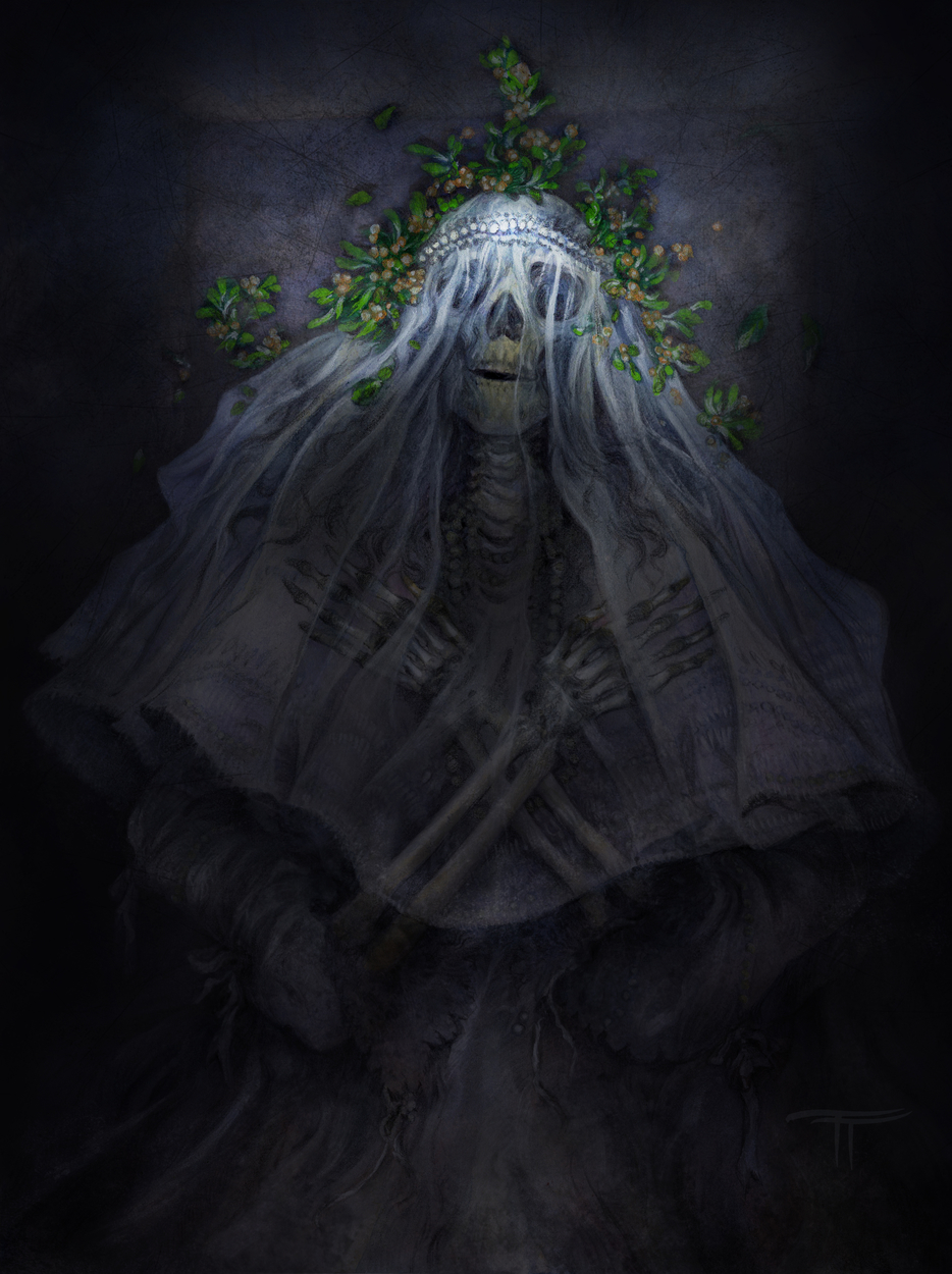 Mistetoe Bride Artwork by Tiffany Turrill