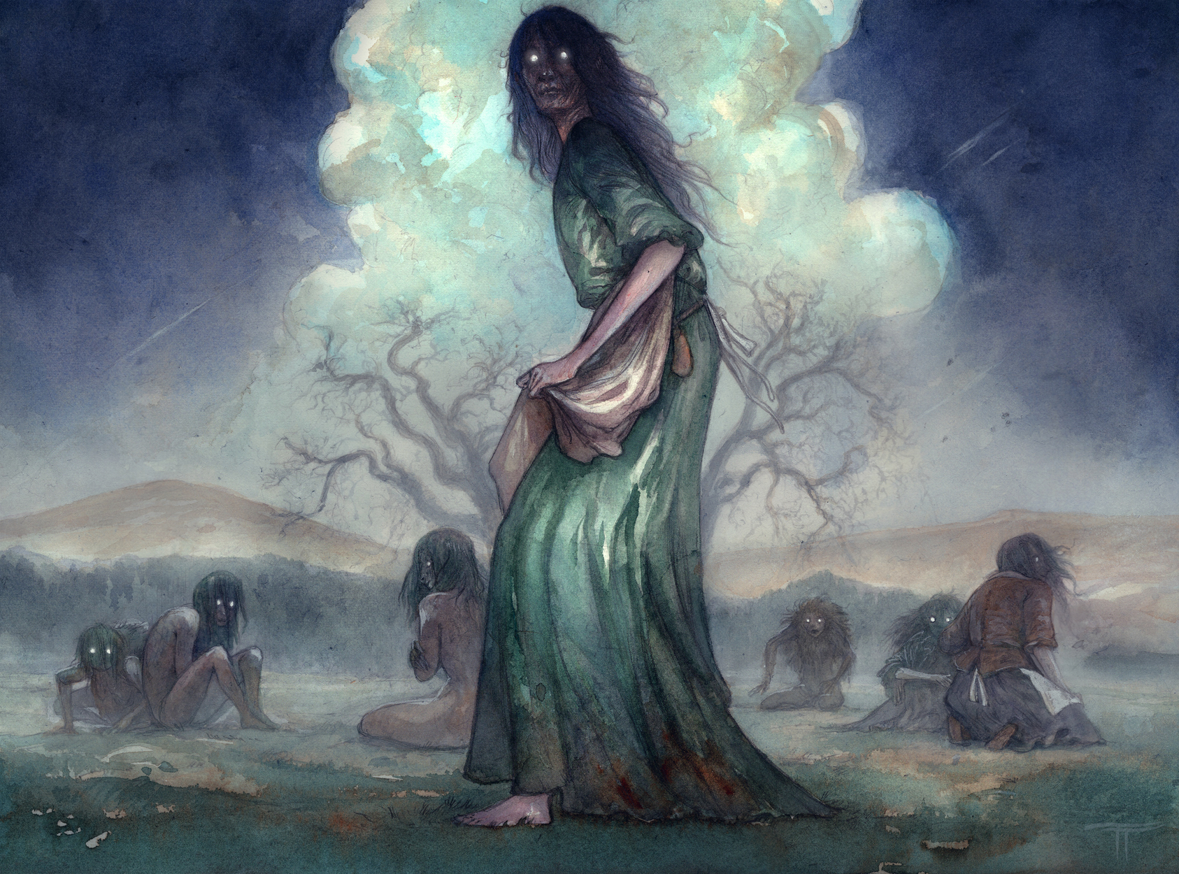 Long Meg and Her Daughters Artwork by Tiffany Turrill