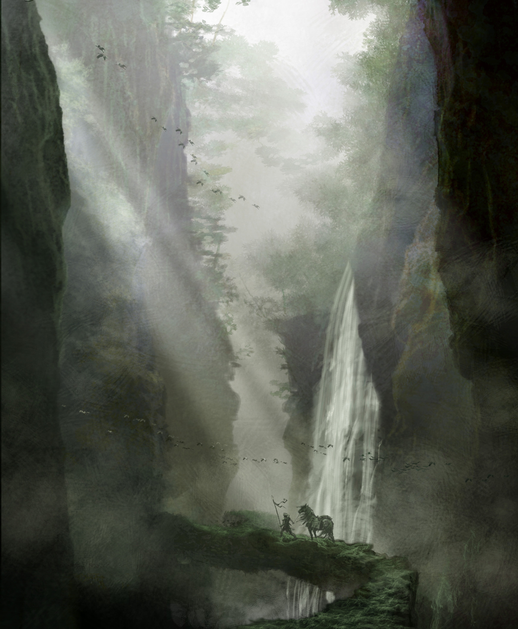 The Chasm Artwork by Gary Freeman