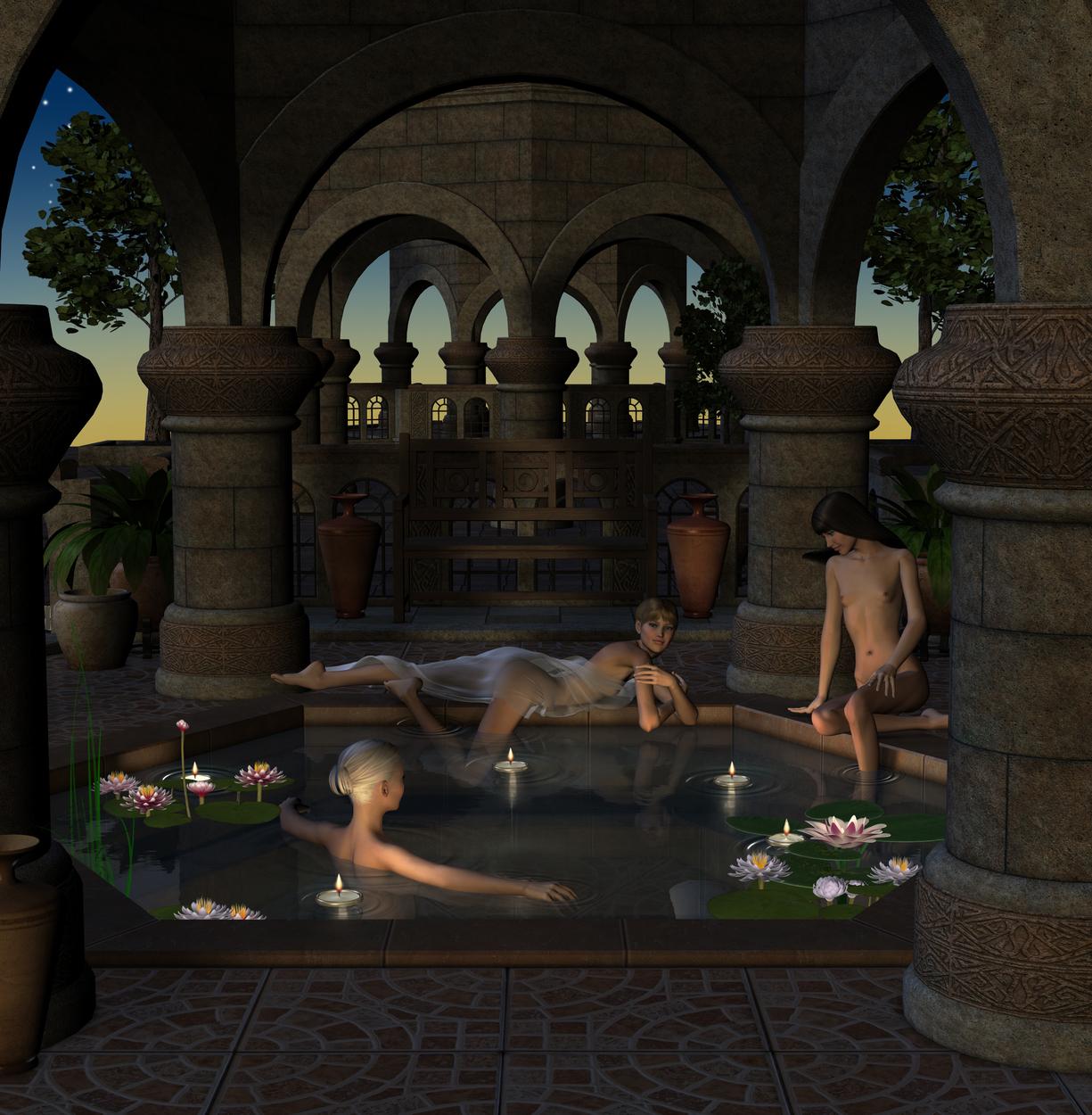 Mogul Fantasy 2 Artwork by David Griffith
