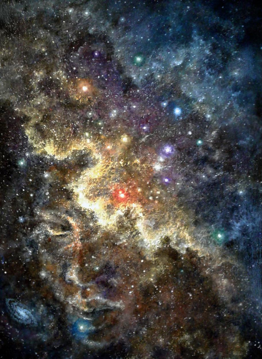 Cosmic Dreams Artwork by Melissa Gay