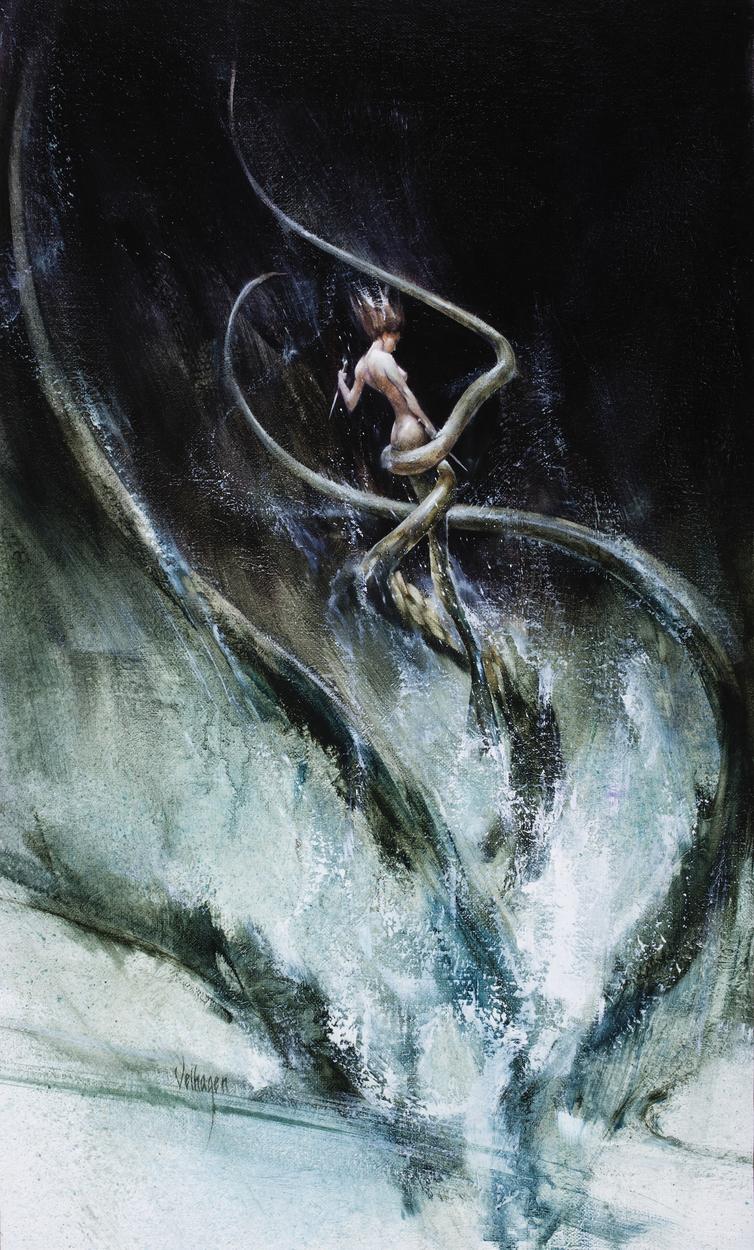 Mermaid's Tempest Artwork by Eric Velhagen