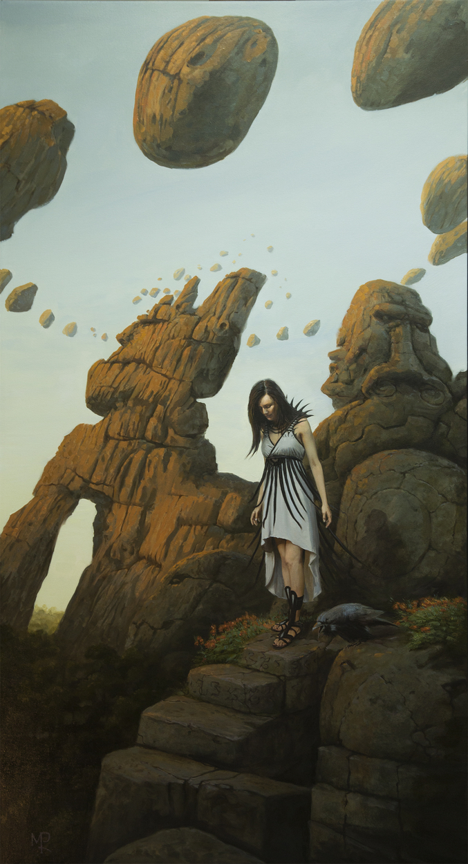 scattered thoughts Artwork by Mark Poole