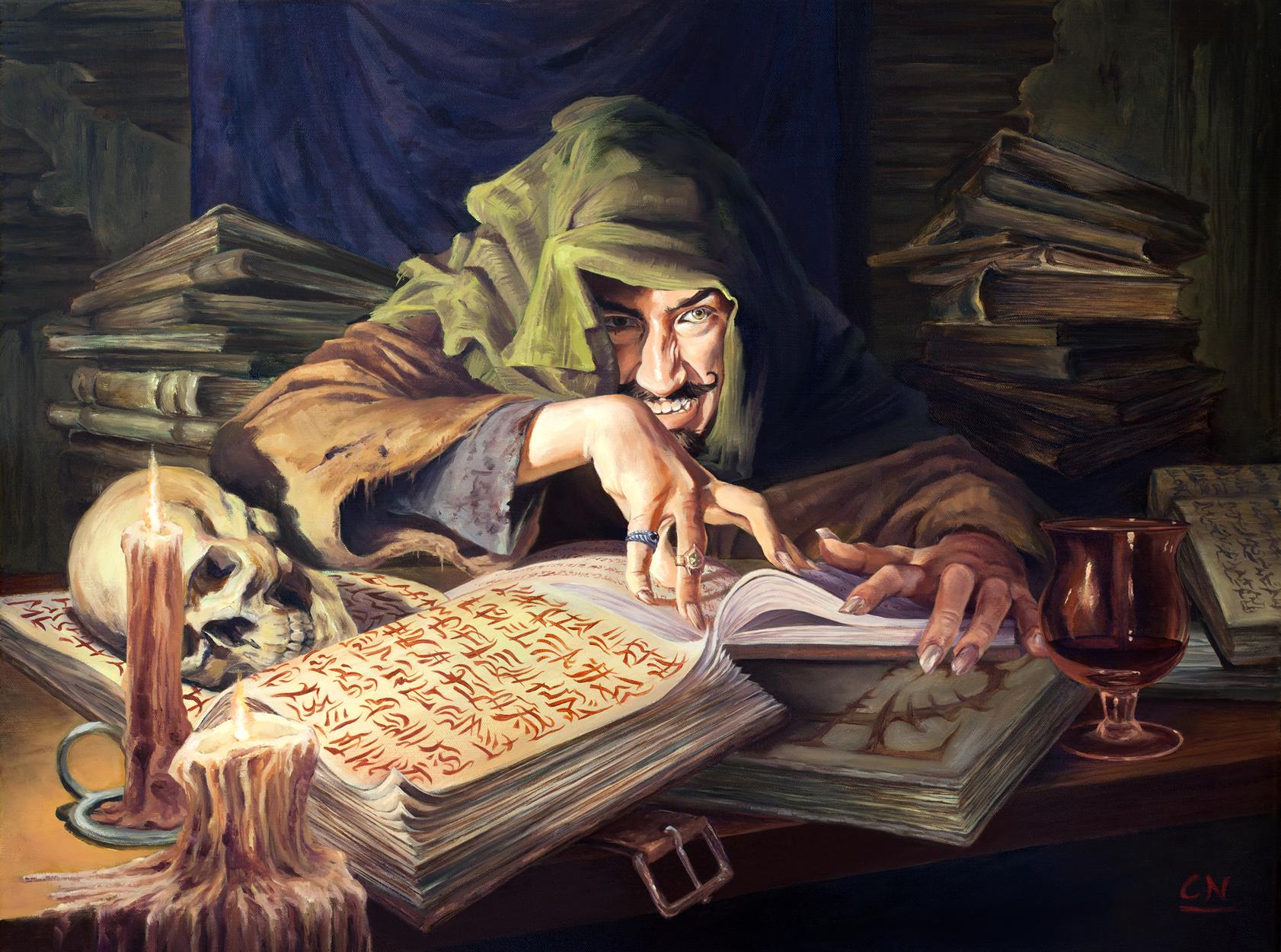 Forbidden Knowledge Artwork by Colin Nitta