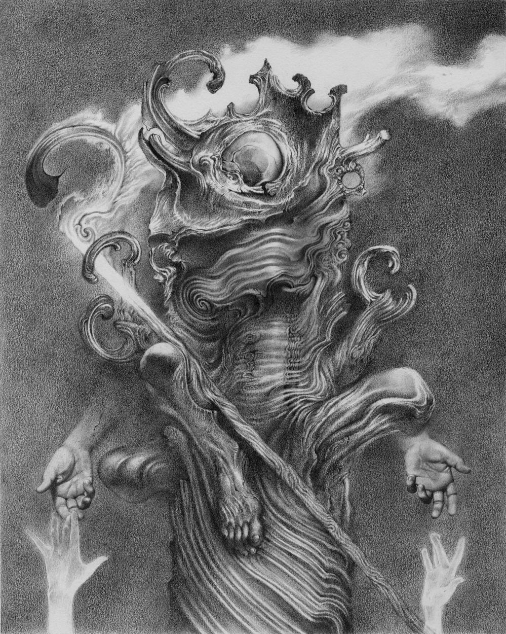 The Crookt Man Artwork by Allen Williams