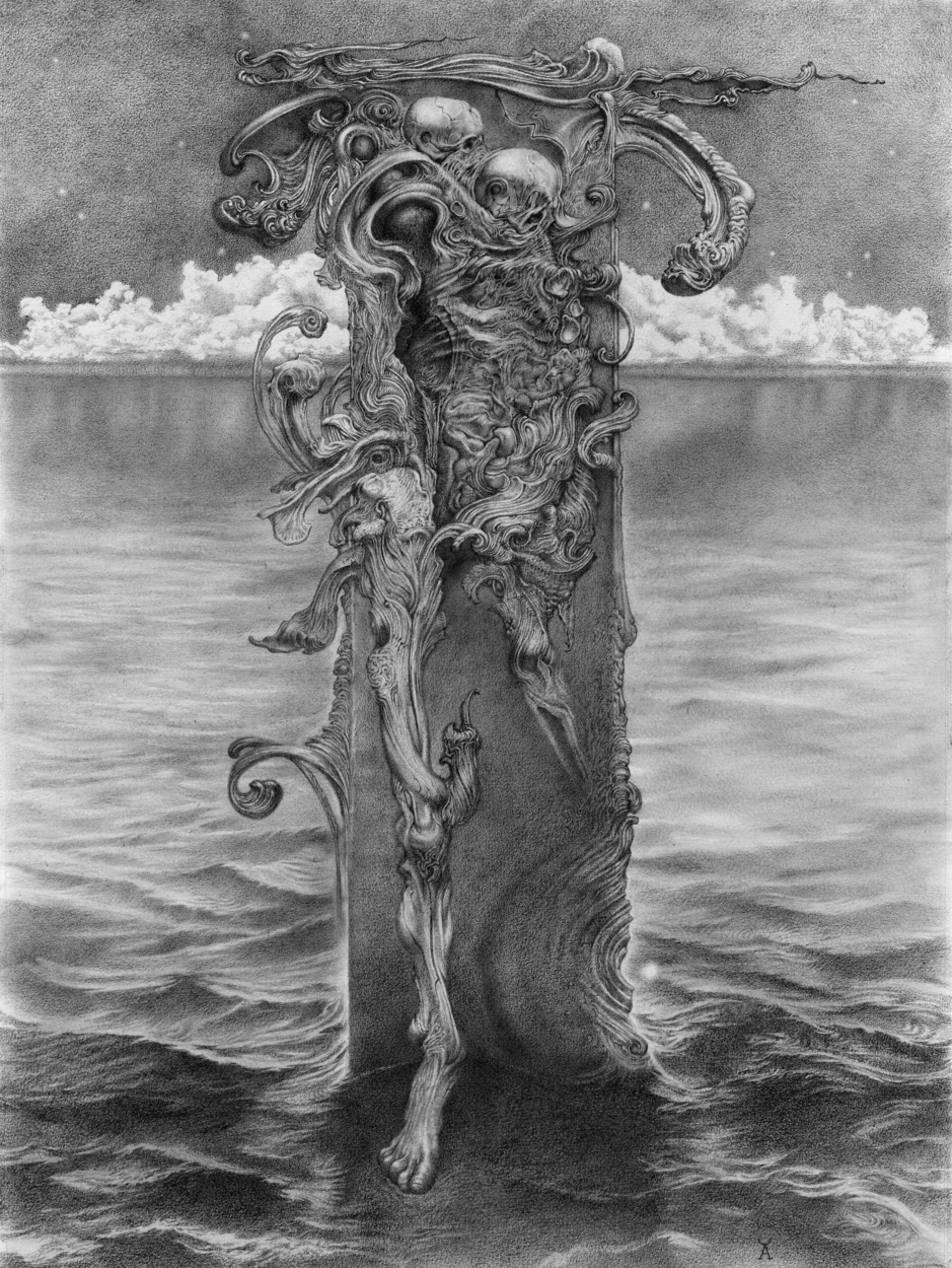 The Stillborn King Artwork by Allen Williams