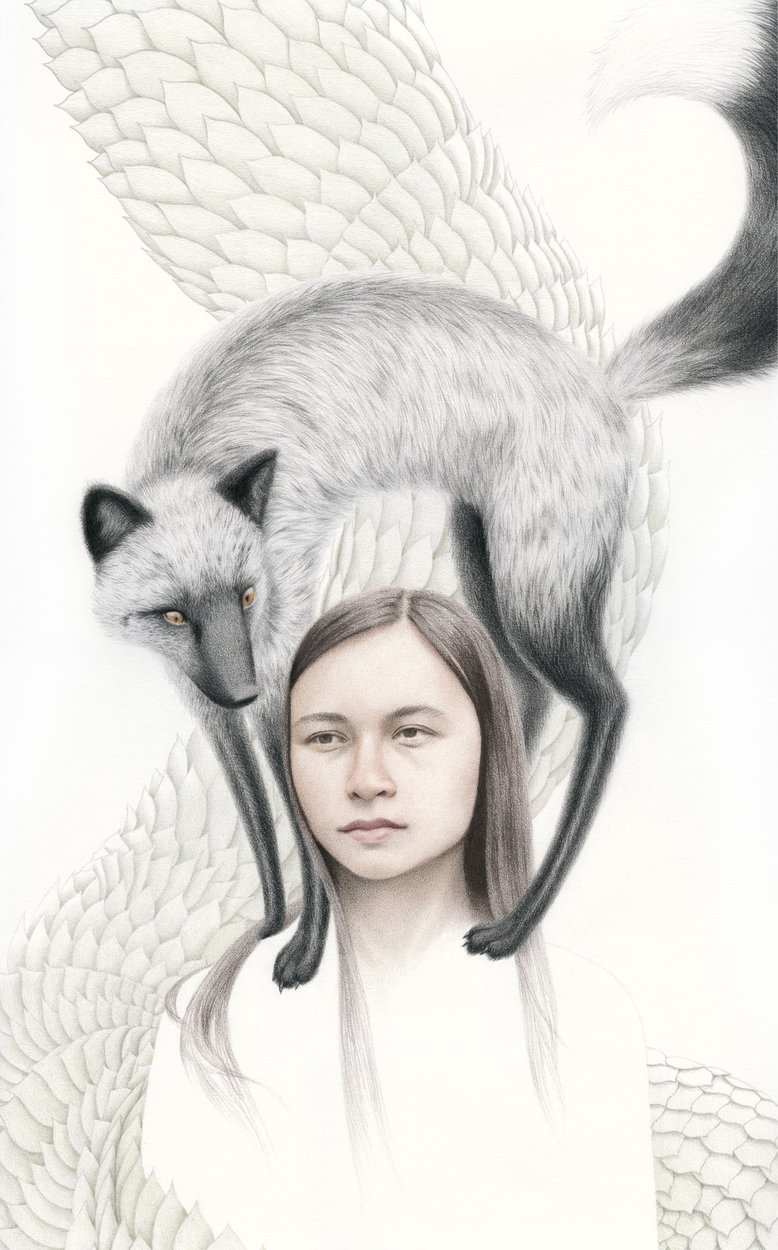 Silver & Gold Artwork by Julia Griffin